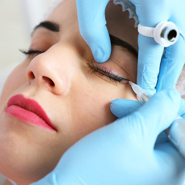 Micropigmentacion de los ojos